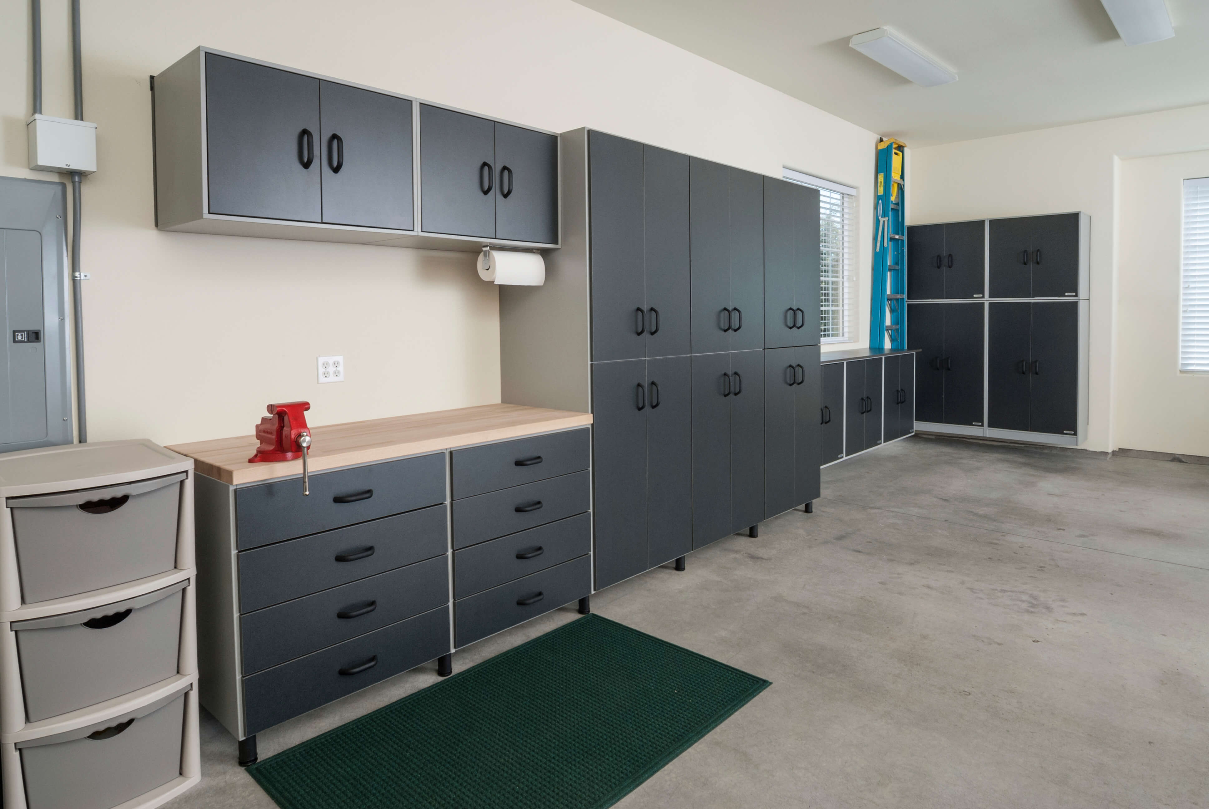 solutions and cabinets garage with design hanging small also shelves cupboard storage for ideas workbench