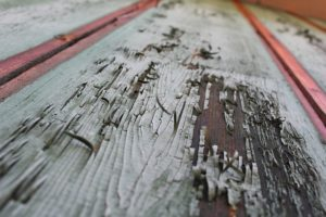 Weathered Wood for Storage