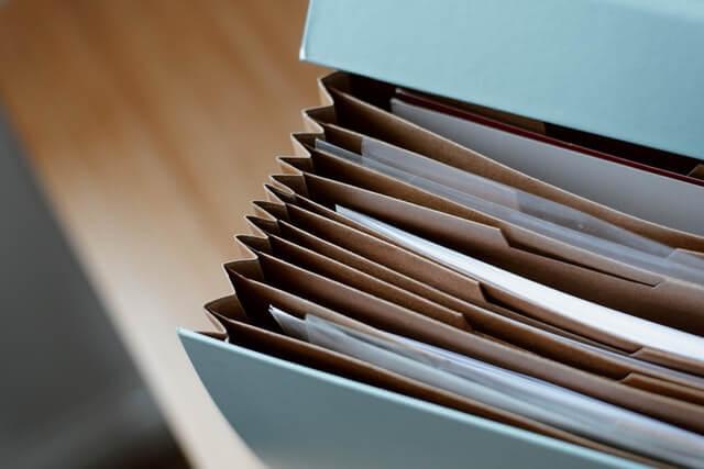 paper document storage